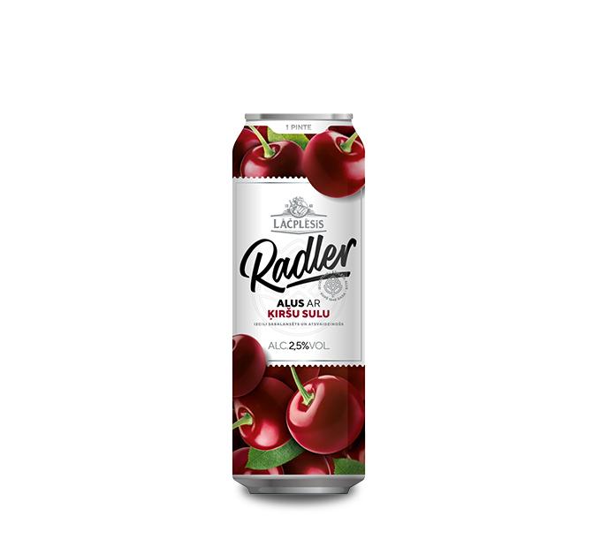Lāčplēsis Radler alus ar ķiršu sulu