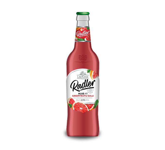 Lāčplēsis Radler alus ar greipfrūtu sulu